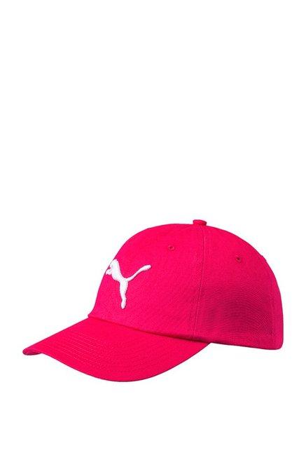 Puma ESS Pink Love Potion Solid Cotton Baseball Cap