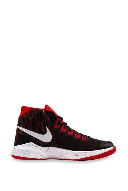 8dc7b85ba7e3 Buy Nike Zoom Devosion Black Basketball Shoes for Men at Best ...