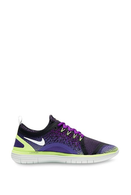 7a9979cf2620b3 Buy Nike Free RN Distance 2 Violet Running Shoes for Women at Best Price    Tata CLiQ