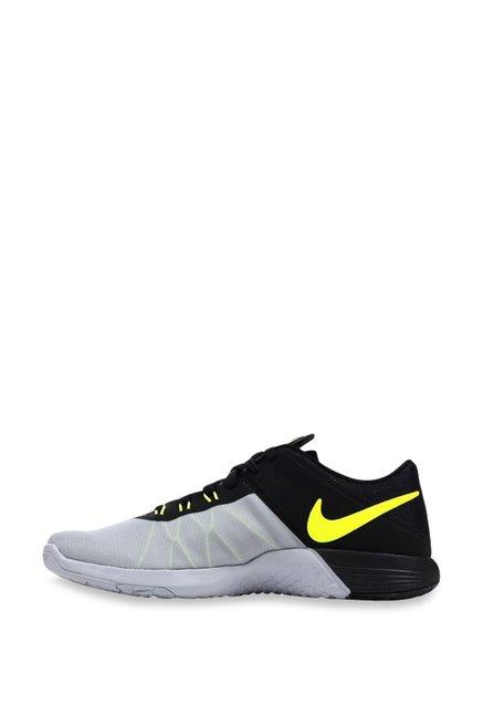 Nike FS Lite Trainer 4 Light Grey & Black Training Shoes