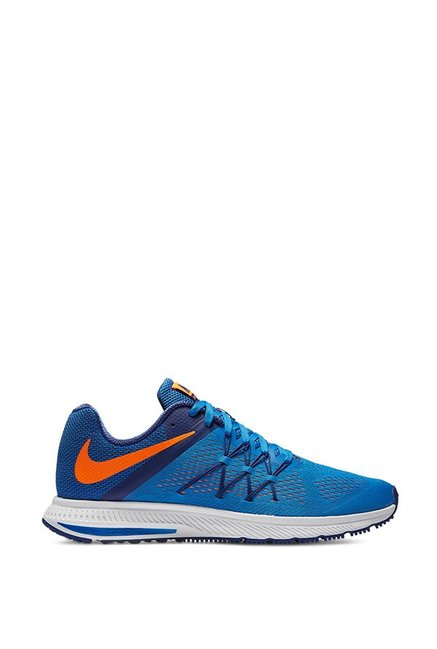 4a505c15ba96 Buy Nike Zoom Winflo 3 Blue Running Shoes for Men at Best Price ...