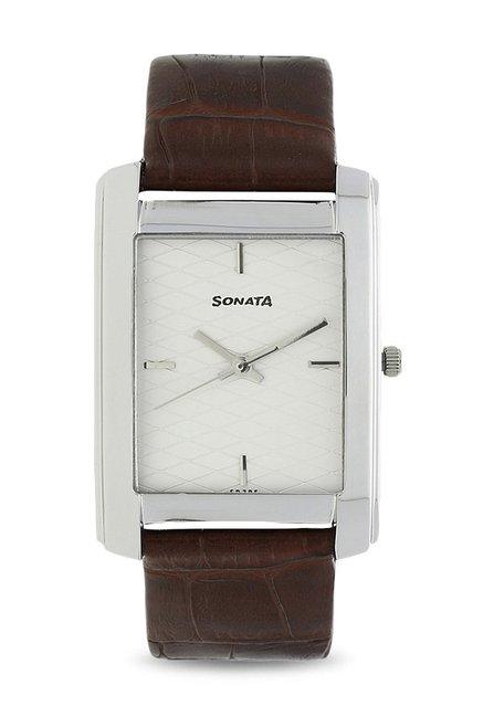 Sonata ND7953SL01 Super Fibre Men's Watch image.