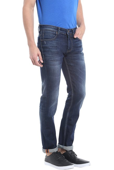 Killer Navy Low Rise Skinny Fit Jeans