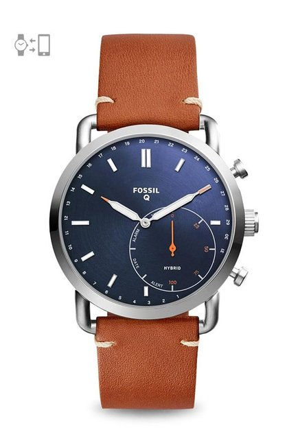 Fossil FTW1151 Blue Dial Analog Men's Watch (FTW1151)