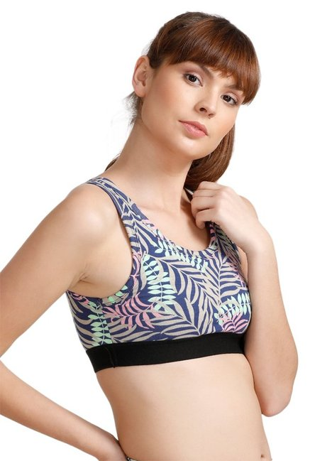 West Vogue By Zivame Multicolor Non Wired Padded Bra