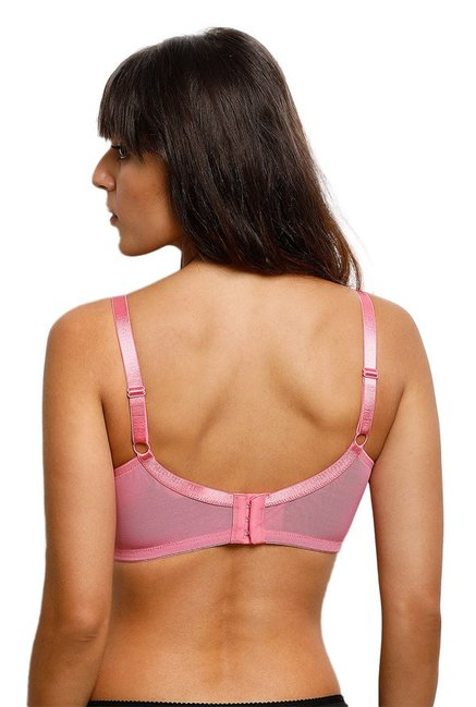 Zivame Pink Non Wired Non Padded Bra