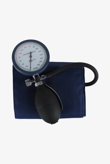MCP Palm01 Type Aneroid Sphygmomanometer BP Monitor (Black)