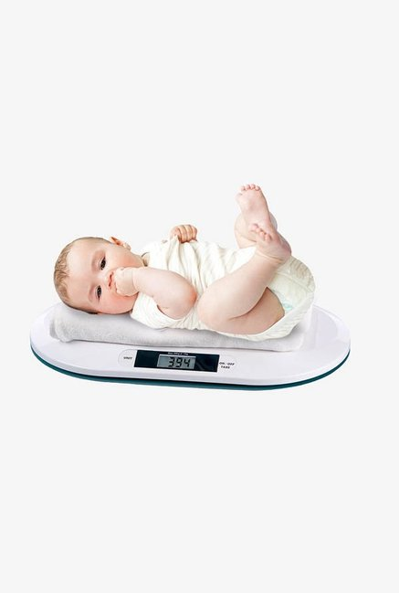 MCP BWS-01 Electronic Digital Weighing Scale (White)