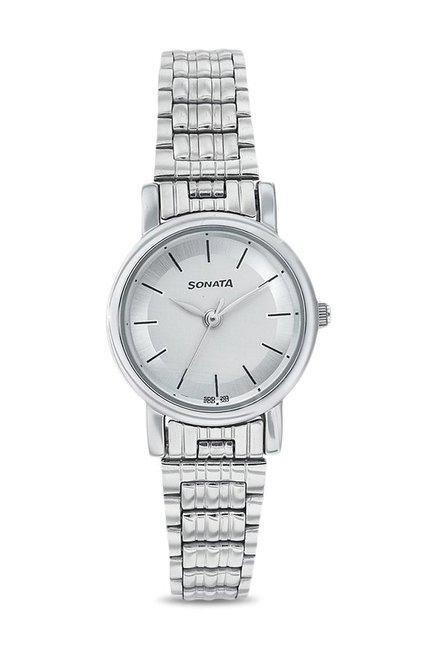 Sonata NJ8976SM01C Analog Watch for Women