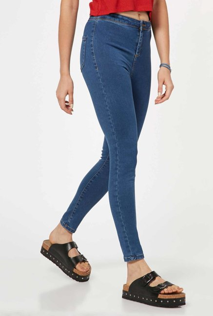 Nuon by Westside Blue Bersa Jeans