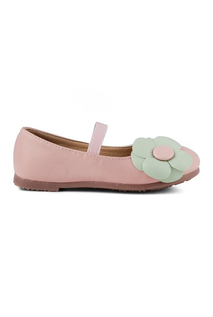 aed7df8b9 Buy Kittens Pink Flat Ballerina For Kids Online At Tata CLiQ