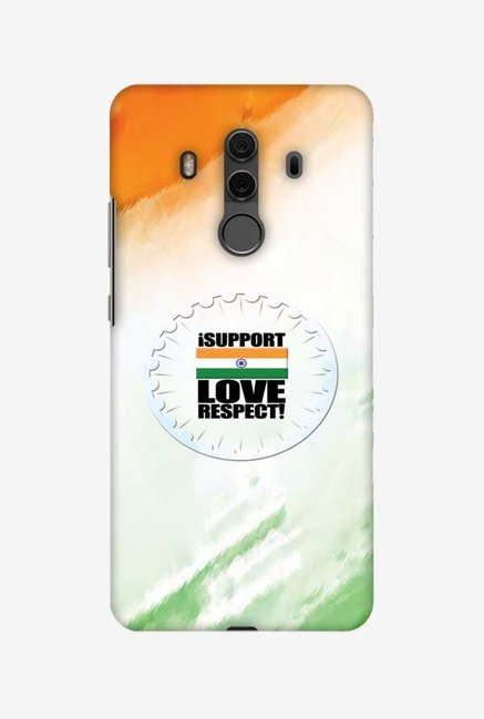 Buy Amzer I Support Love India Designer Case for Huawei Mate