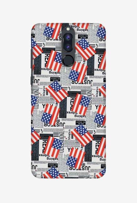 timeless design f32e6 8b2ff Buy Amzer USA Flags Designer Case for Honor 9i Online At Best Price ...