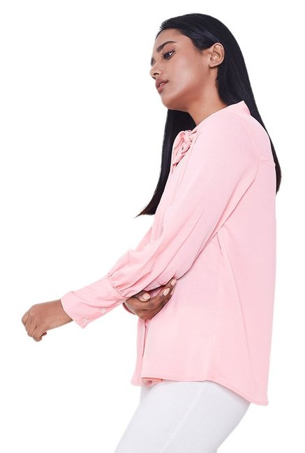 AND Pink Regular Fit Top
