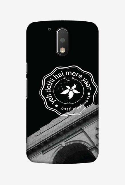 san francisco 951f7 7a751 Buy Amzer Delhi Hard Shell Designer Case for Moto G4 Play Online ...