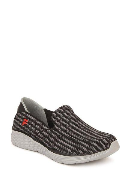 f9a9bdd63 Buy Fila Erek Black   Grey Training Shoes for Men at Best Price ...