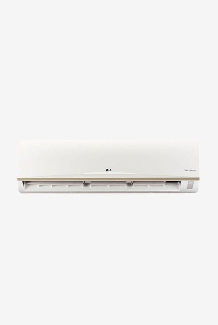 LG 2 Ton 3 (BEE rating 2017) JS-Q24AUXA1 Copper Inverter Split AC (White)