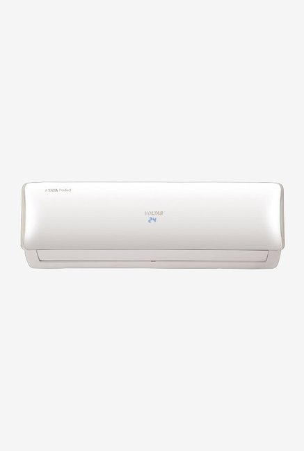 Voltas 1.0 Ton 3 Star (BEE Rating 2018) 123V DZU Copper Inverter Split AC (White)