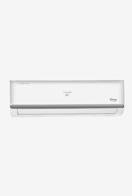 Voltas 1.5 Ton 3 Star (BEE rating 2018) 183V MZM Copper Inverter Split AC (White)