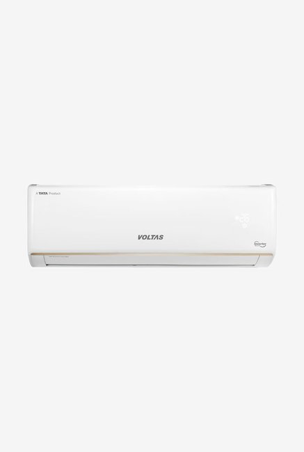 Voltas 1.5 Ton Inverter 3 Star Copper (BEE Rating 2018) 183V MZO2 Split AC (White)