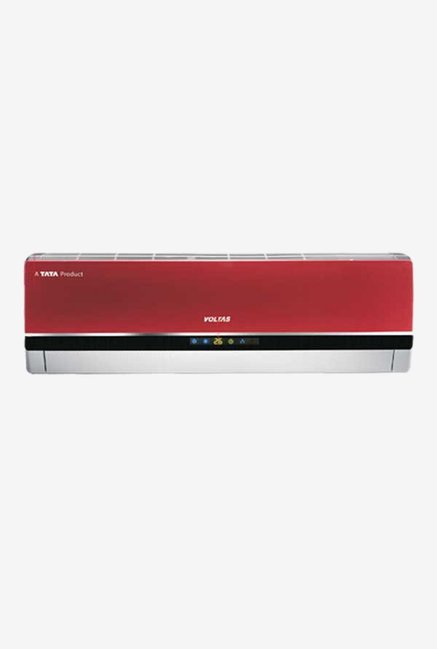 Voltas 1.0 Ton 3 Star (BEE rating 2018) 123 PZY-R Copper Split AC (Red)
