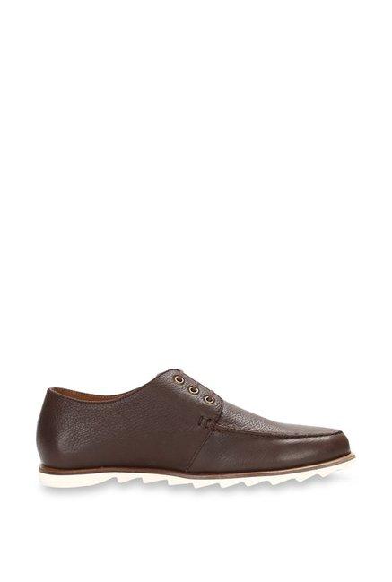 Allen Solly Dark Brown Derby Shoes