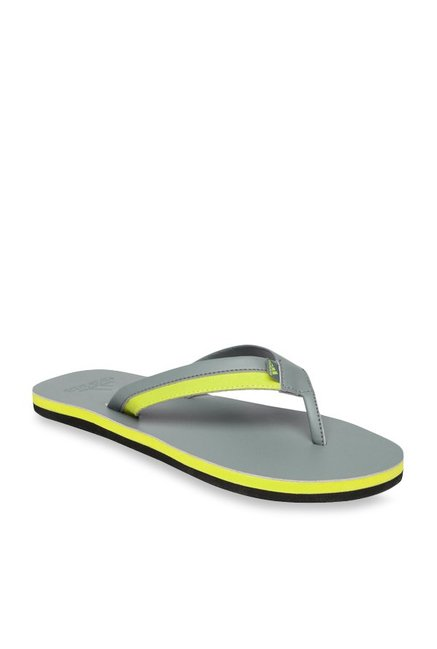 da55ad2e4 Buy Adidas Brizo 3.0 Grey   Yellow Flip Flops for Men at Best Price ...