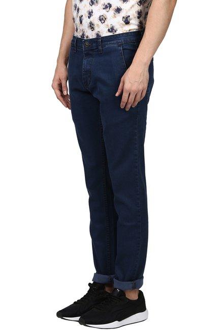 492f1d69 Buy Raymond Dark Blue Mid Rise Jeans for Men Online @ Tata CLiQ