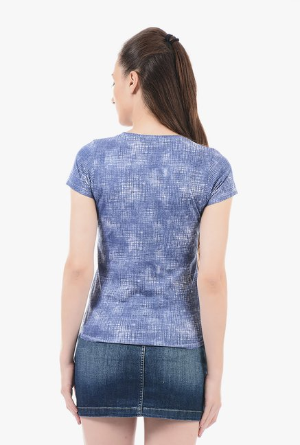 Pepe Jeans Navy Printed T-Shirt