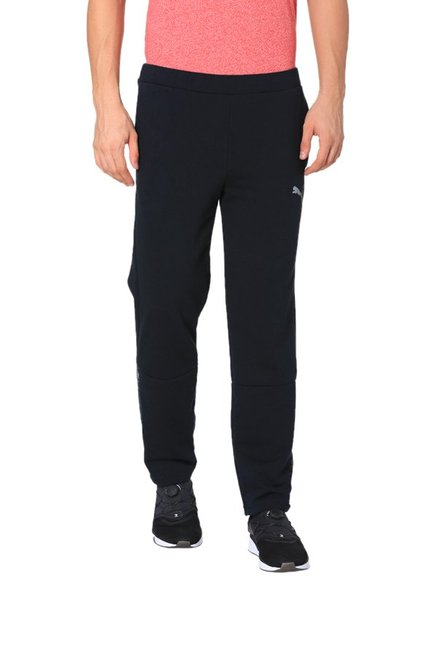 c570cecd4799 Buy Puma Black Cotton Trackpants for Mens Online   Tata CLiQ