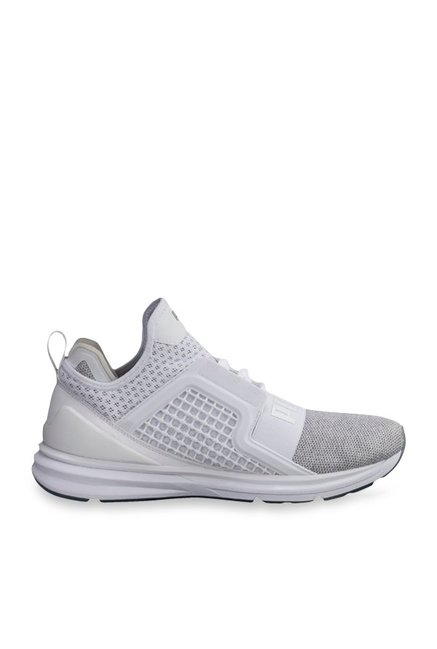 huge selection of 72a1d 22afb Buy Puma Ignite Limitless Knit White Training Shoes for Men ...