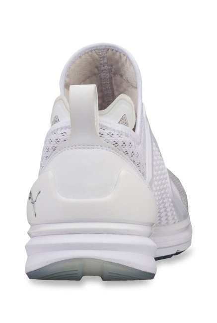 1cf5bd495253a2 Buy Puma Ignite Limitless Knit White Training Shoes for Men at Best ...