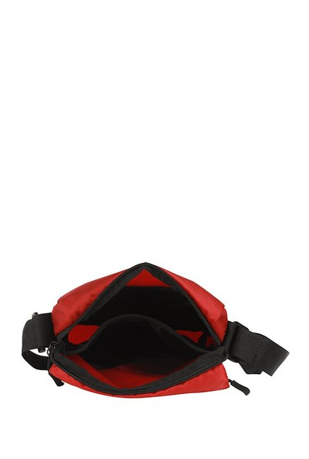 6bf506a740 Buy Wildcraft Carin Mini Red Textured Polyester Sling Bag Online At ...