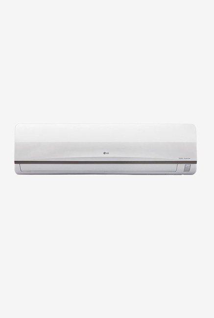 LG 1.5 Ton Inverter 3 (BEE rating 2017) JS-Q18SUXD2 Copper Split AC (White)