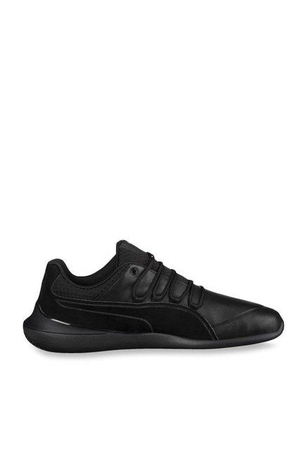 Buy Puma Ferrari SF Evo Cat Night Black Sneakers for Men at Best Price    Tata CLiQ d6fbf749a