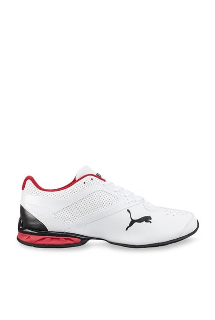 Buy Puma Tazon 6 FM White Running Shoes for Men at Best Price   Tata CLiQ 0d15faf59