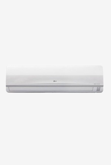 LG 1 Ton Inverter 3 (BEE rating 2017) JS-Q12MUXD Copper Split AC (White)