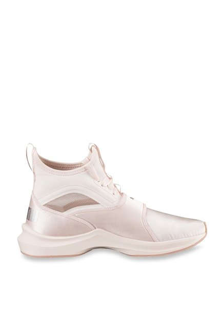 Buy Puma Phenom Satin EP Pearl Pink Training Shoes for Women at Best Price    Tata CLiQ 289487ee7