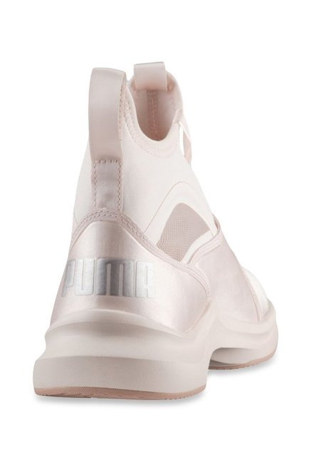 edb88007d8d Buy Puma Phenom Satin EP Pearl Pink Training Shoes for Women at Best ...