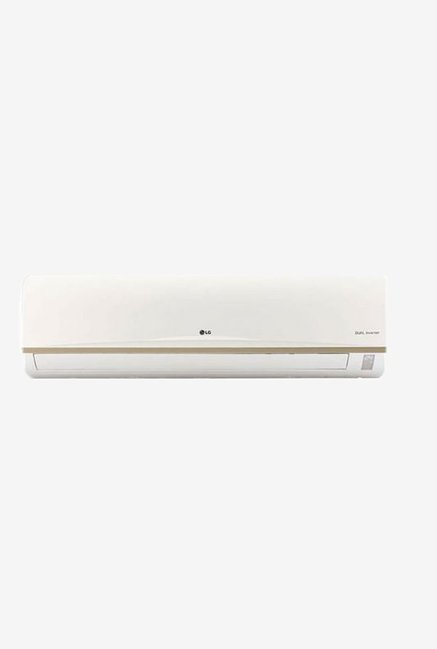 LG 2.0 Ton 3 star (BEE rating 2018) JS-Q24AUXA1 Inverter Split AC (White)