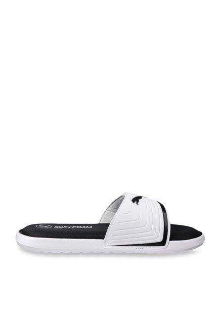 08dd6599467f Buy Puma Starcat Sfoam White Casual Sandals for Men at Best Price   Tata  CLiQ