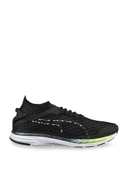 Buy Puma Speed Ignite Netfit 2 Black Running Shoes for Men at Best Price    Tata CLiQ 50dfef8e3
