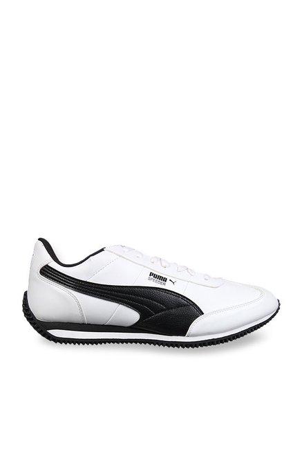 2912e2f5cb5 Buy Puma Velocity IDP White   Black Running Shoes for Men at Best ...