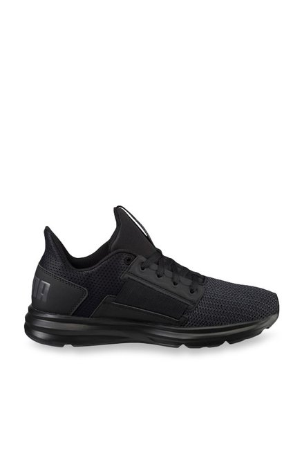 ad1b0e298ed Buy Puma Enzo Street Black   Periscope Running Shoes for Women ...