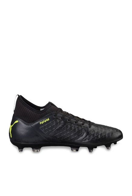 a1a91b8884c Buy Puma Future 18.3 FG AG Black & Fizzy Yellow Football Shoes for Men at  Best Price @ Tata CLiQ