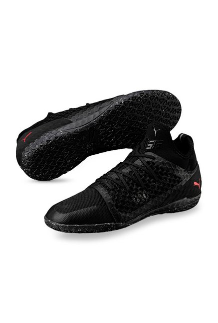b101178a1f2 Buy Puma 365 Ignite Netfit CT Black Football Shoes for Men at Best ...