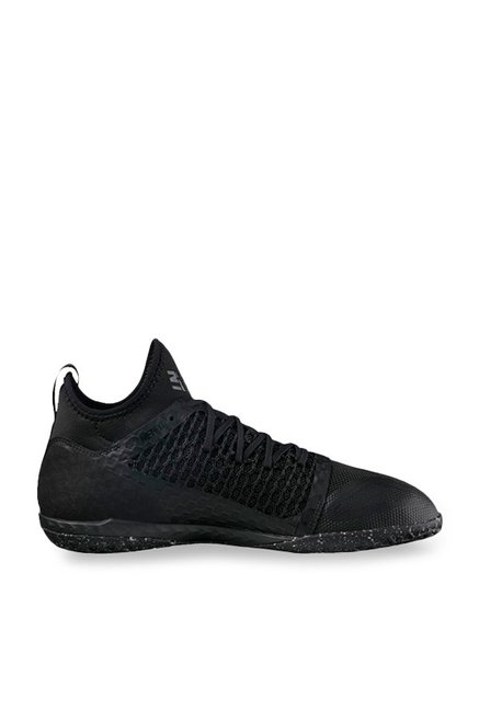 551e6e1ebd5 Buy Puma 365 Ignite Netfit CT Black Football Shoes for Men at Best Price   Tata  CLiQ
