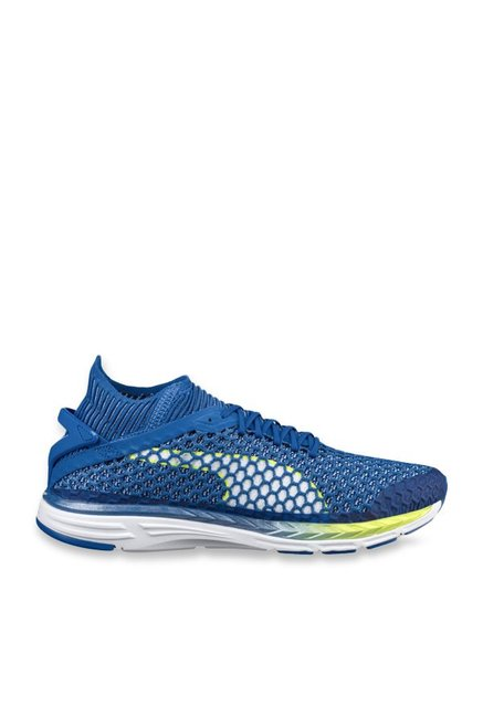 1f4b990287cbcf Buy Puma Speed Ignite Netfit 2 Turkish Sea Running Shoes for Men at ...