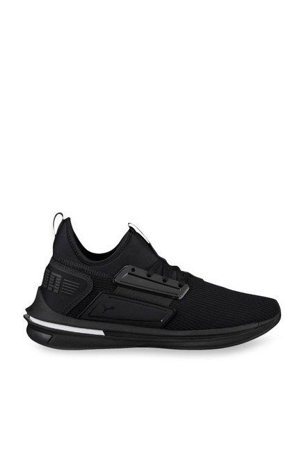 best service 33d3c 1472e Buy Puma Ignite Limitless SR Black Training Shoes for Men at ...