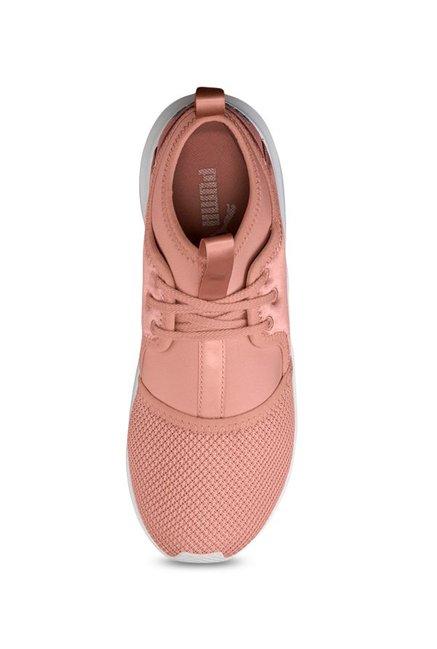 96a3c49b1de Buy Puma Phenom Low Satin EP Peach Training Shoes for Women at Best ...
